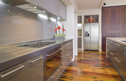 Domestic Stainless Steel Benchtop