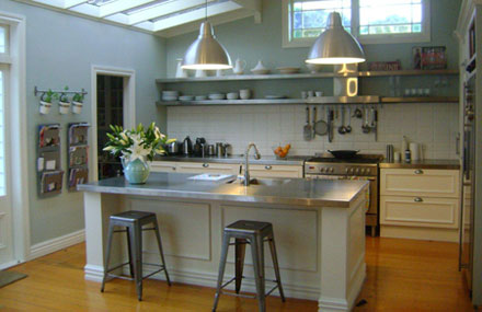 Domestic Stainless Steel Benchtop & Shelving