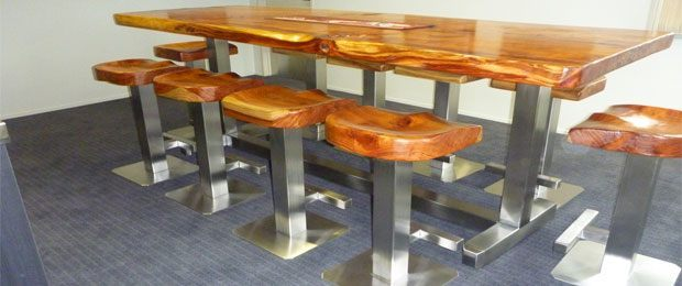 Custom Table & Stools