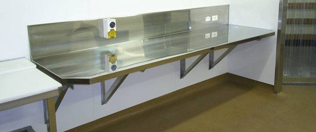 Industrial Stainless Steel Benchtop