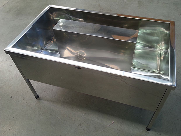 Wash Troughs Classic Stainless Steel