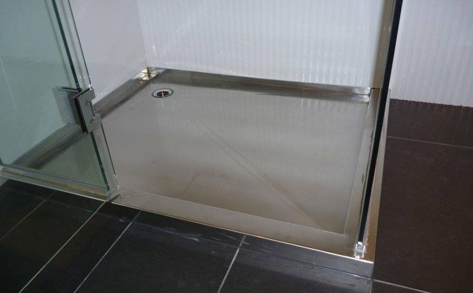 Shower Trays | Classic Stainless Steel