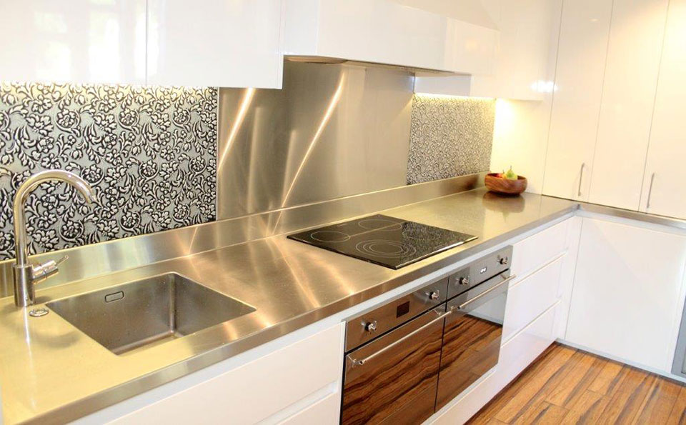 kitchen sink benchtop stainless steel benchtops classic stainless steel 2582